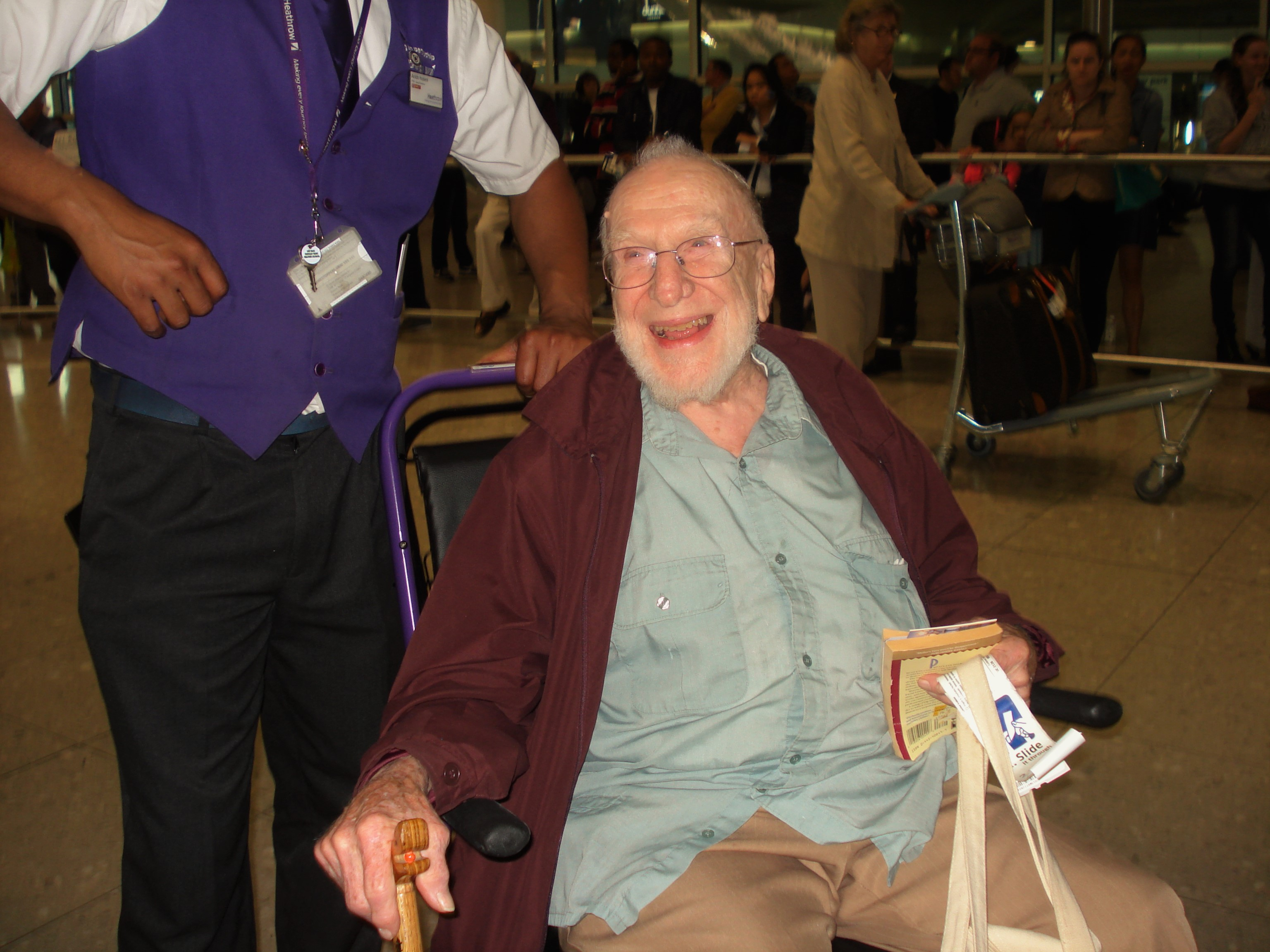 Don at heathrow