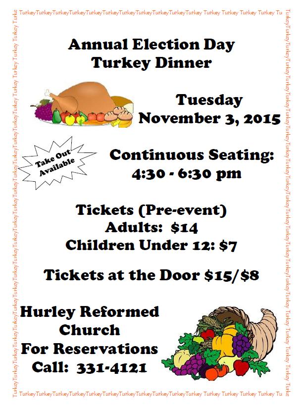 Turkey dinner 2015