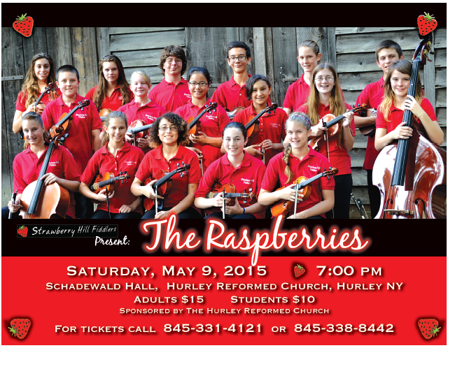 raspberry fiddlers